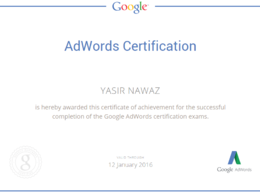 Create an Adwords Campaign and help/teach you how to manage it