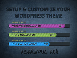 I'll Use Your OWN CONTENT to Install Setup & Customize Your Wordpress Theme as Demo