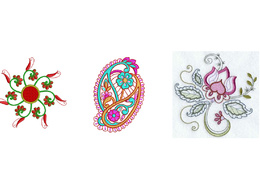 Digitize designs for embroidery files
