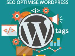 SEO optimise your Wordpress website