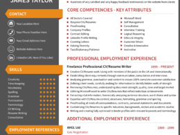 Professionally write a CV/Resume with new content & achievements