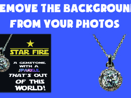 Edit out the background of your photos