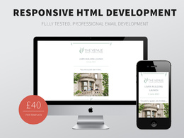 Convert PSD's into Responsive HTML Newsletters & Responsive Email Templates