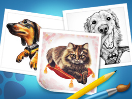 Draw Your pet, or any animal