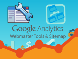 Setup google analytics,webmaster tools and sitemap
