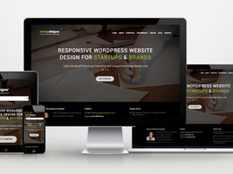 Design custom, SEO friendly, responsive  five page wordpress  website