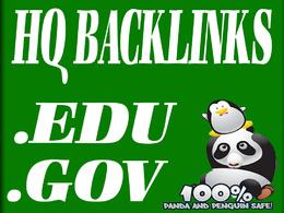 Create 155+ EDU and GOV SEO Backlinks