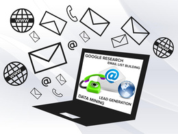 Fast & Efficient Data Mining, Email list building, Profiling for your target Market