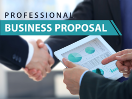 Design professional business proposal