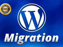 Migrate (move, transfer) WordPress Website to new hosting or domain
