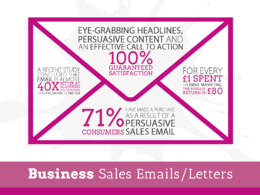 Write a powerful, persuasive sales letter or email