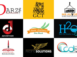 Design your Logo Corporate Identity along with Stationery and Website Favicon