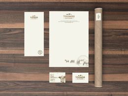 Design a set of business stationery