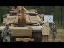 Put your companies logo or any picture of your choice on to a cool moving army tank!