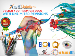 Design Professional Top Quality Logo With Unlimited Concept & Revision