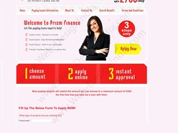 Make  a professional  Responsive landing  page/Squeeze page for your Website