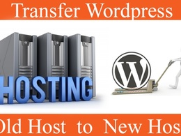 Transfer a Web site to another hosting