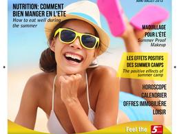 Design full magazine, magazine AD with print ready format