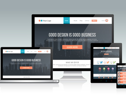 Develop Responsive SEO friendly WordPress website