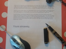 Translate a one A4 page letter from German or French to English