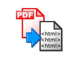 Convert one page of PDF into HTML
