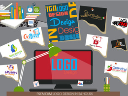 Design creative Logo with unlimited revisions in 24 hours