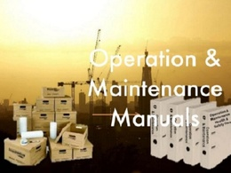Compile your Construction Health & Safety / Operation & Maintenance Manuals