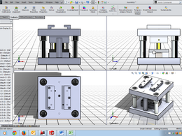 Design parts/components in 2D and 3D for manufacture along with manufacture drawings