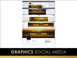 Design your social media branding, Facebook, Twitter, Linkedin, Google+...
