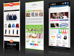 Seen the rest? Now go for the best. Email template design within 24 hours.