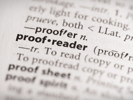 Proofread and edit upto 1000 words