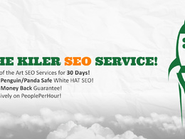Provide 30 Days SEO services to rank your website on top of Google Search Engine