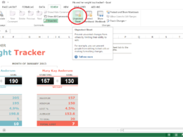 Unprotect/unlock your excel sheet