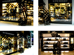 Create an eyecatching product display for your store window or showroom