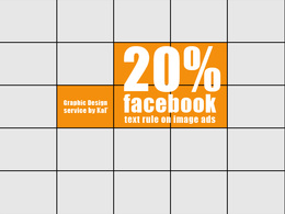 (re)design your social media visual posts to match the 20% text rule for advertising
