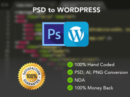 Convert your PSD to WordPress CMS