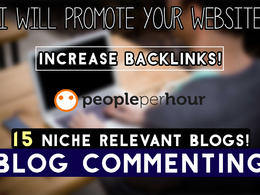 Comment on 15 niche relevant blogs promoting your website