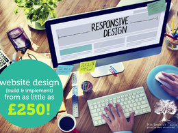 Design a responsive and content editable website (5 page) (bespoke design)