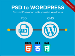 Convert PSD / PDF Designs to Fully Responsive Wordpress Website