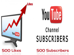 Add  manually 100 Real YOUTUBE Subscribers