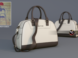 Make a 3d visualisation from any 2d paper sketch of any fashion accessories you want