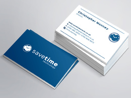Design your exclusive personalised double sided business card