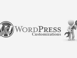 Customize wordpress theme
