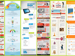Design a clean and professional Infographics