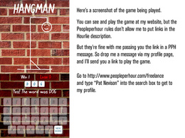 An HTML5 Hangman game for your site / domain