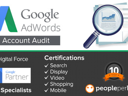 Audit/Review your Google Ads Account - Find best opportunities