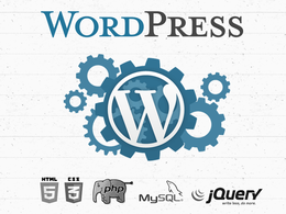 Modify your Wordpress site (HTML, CSS, PHP, JQuery) in 24 hours