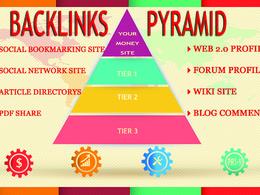 Do SEO Backlinks Pyramid dofollow Links