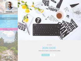 Design a standard website graphic layout in photoshop