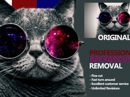 Professionally remove 5 backgrounds from your images